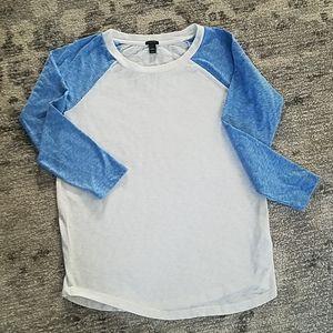 Pretty J Crew tee shirt